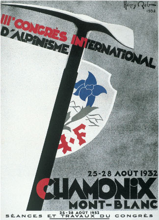 UIAA 1932 Poster