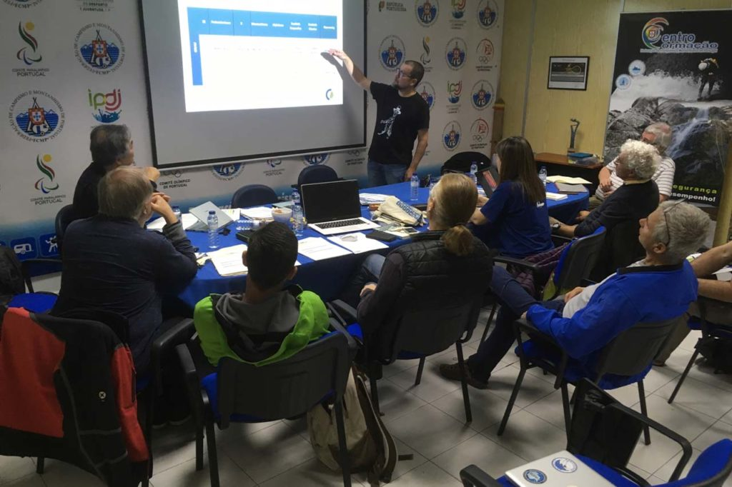 UIAA MountCom Portugal April2018 v1 1024x682 TRAINING AND SAFETY KEY TOPICS DISCUSSED AT MOUNTAINEERING COMMISSION MEETING