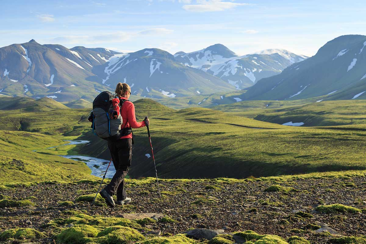 advantages and disadvantages of using hiking sticks in the mountains