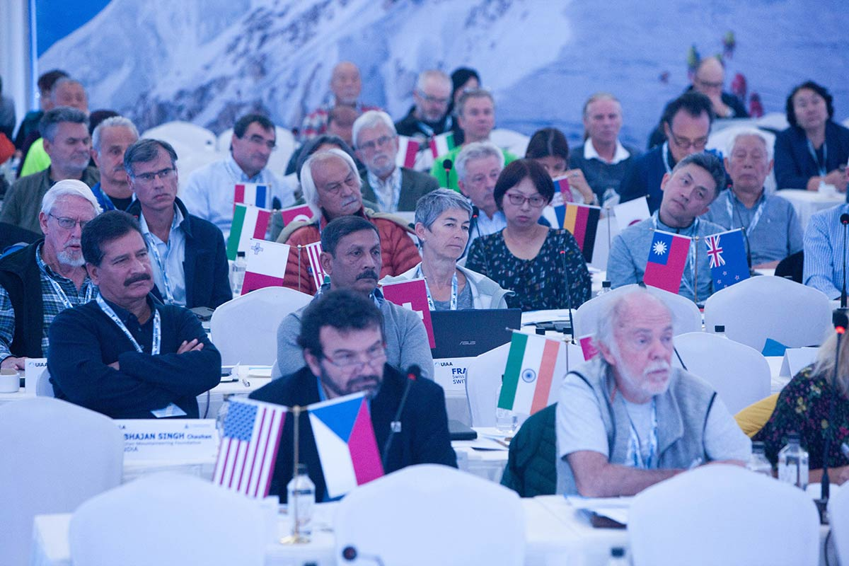 International Climbing <br> and Mountaineering Federation