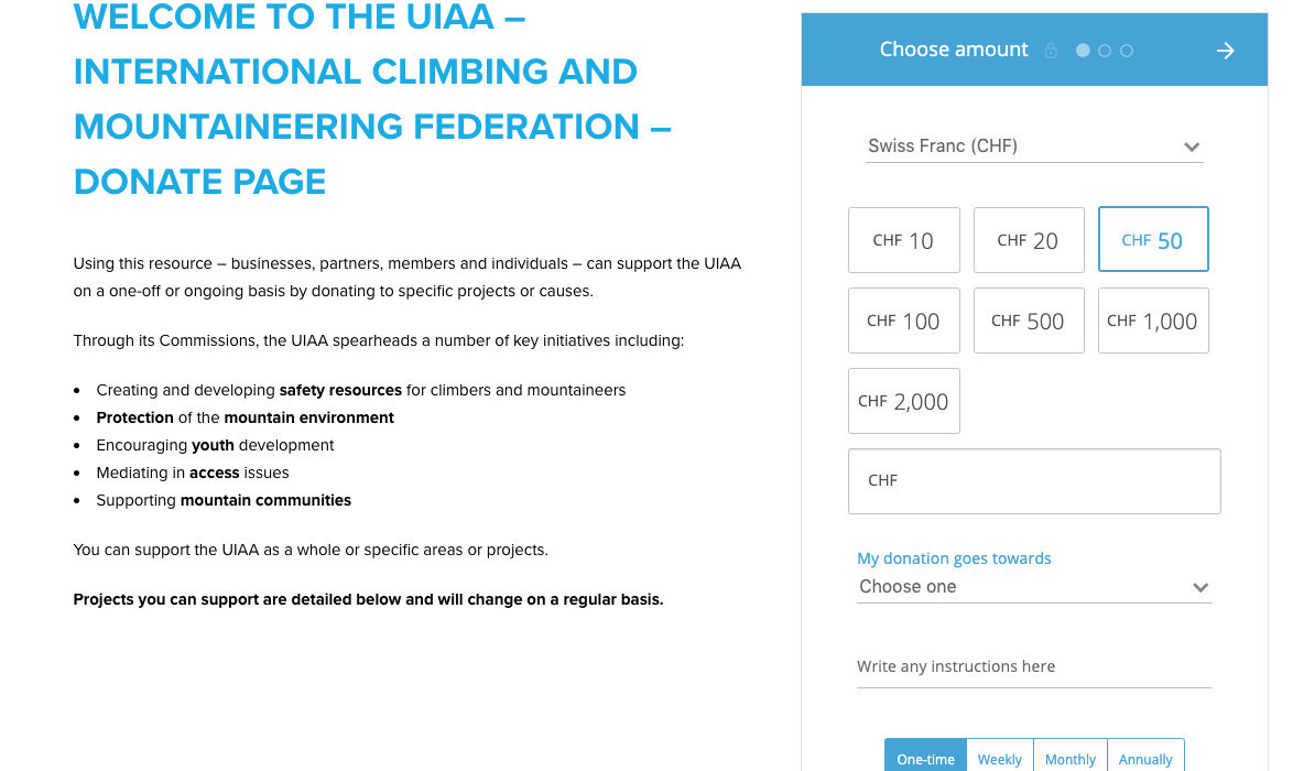 6d62703f3f UIAA – International Climbing and Mountaineering Federation